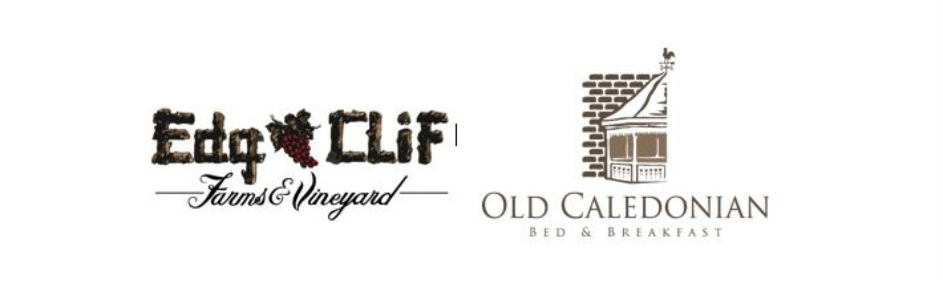 The logos for Edg-Clif Winery and the OCBB