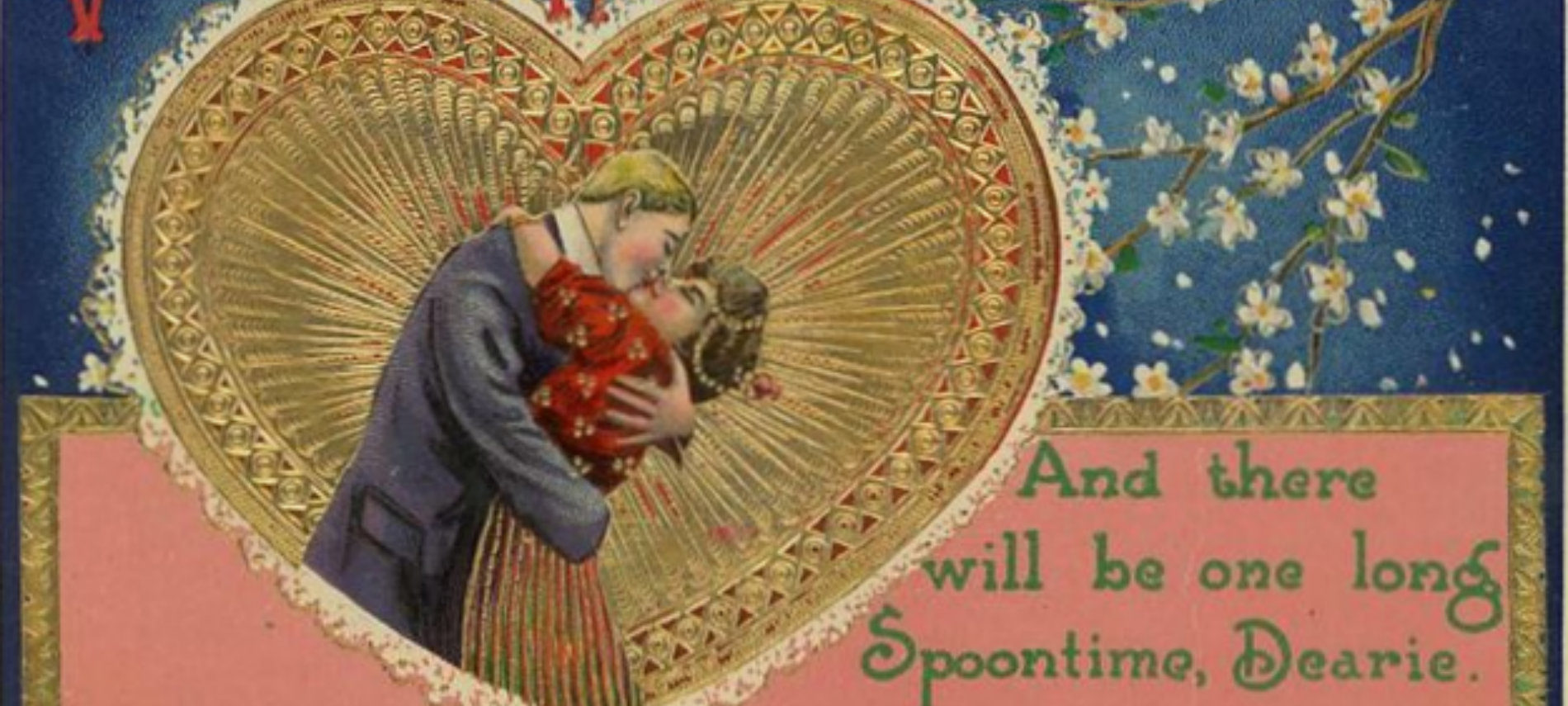 An antique valentine